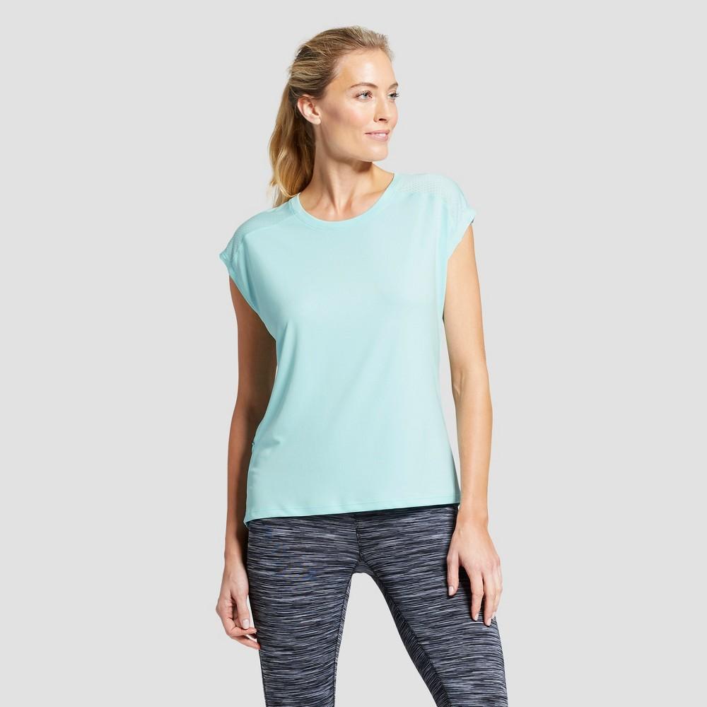 Women's Run Short Sleeve T-Shirt - C9 Champion Blue Mist S