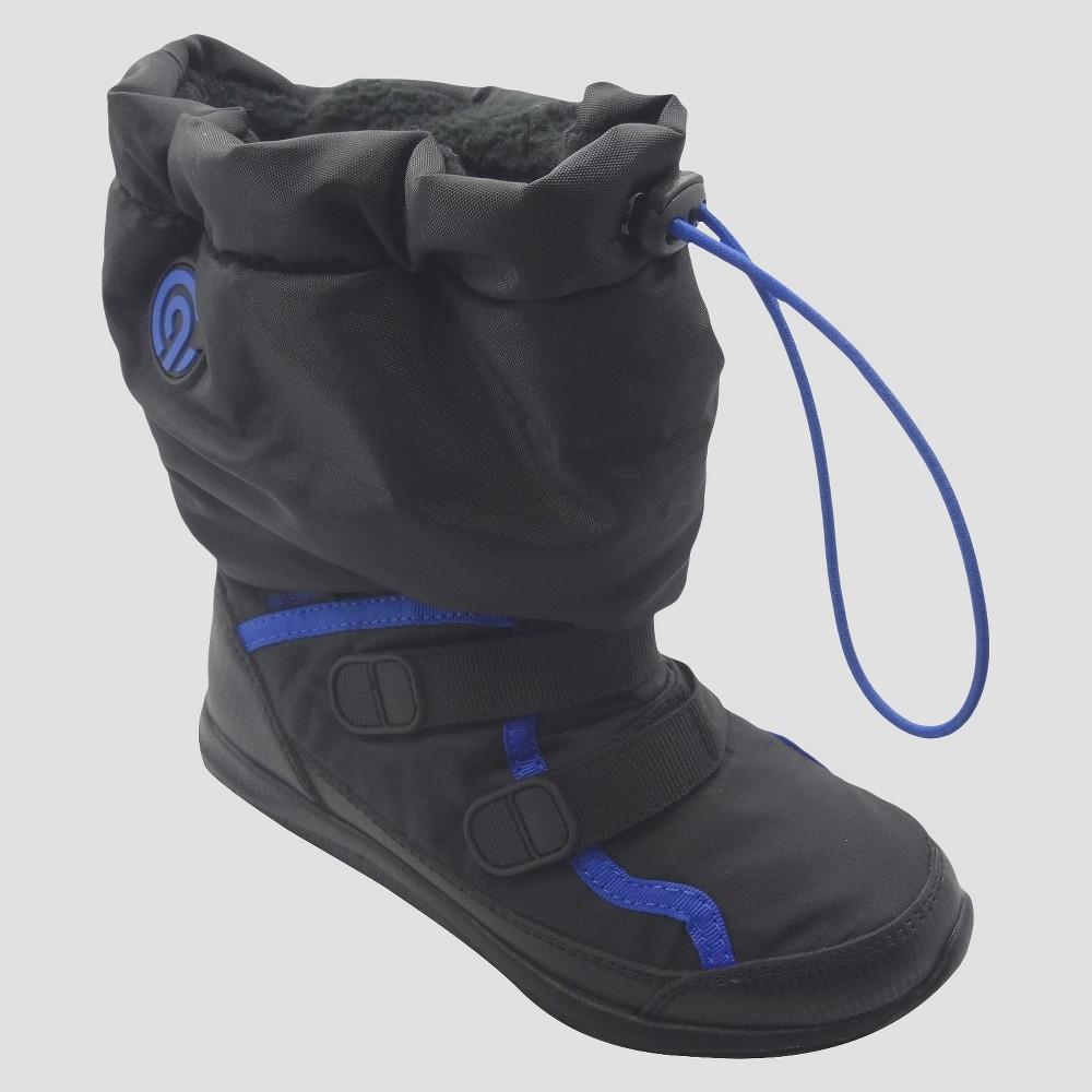 Boys Elbert Cold Weather Winter Boots - C9 Champion Black 5
