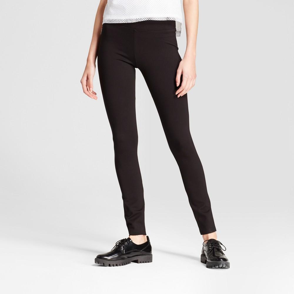Womens Leggings - R+j Couture Black L