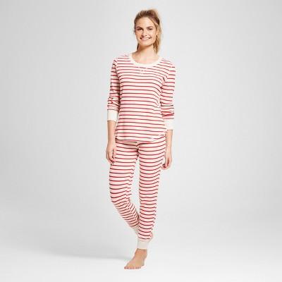 Women's 2pc Pajama Set - Gilligan & O'Malley™ Oatmeal Heather L