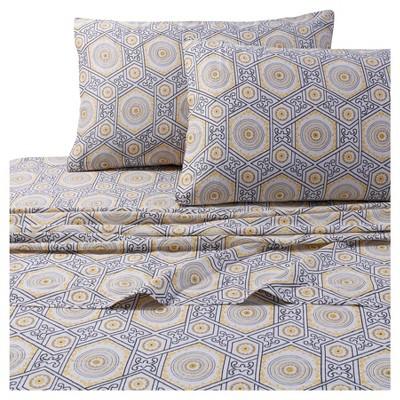 Maldives Deep Pocket Sheet Set (Queen)Gray 300 Thread Count - Tribeca Living®