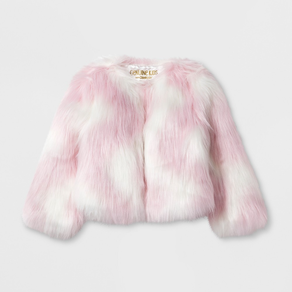 Toddler Girls Jacket - Genuine Kids from OshKosh Illusion Pink 5T