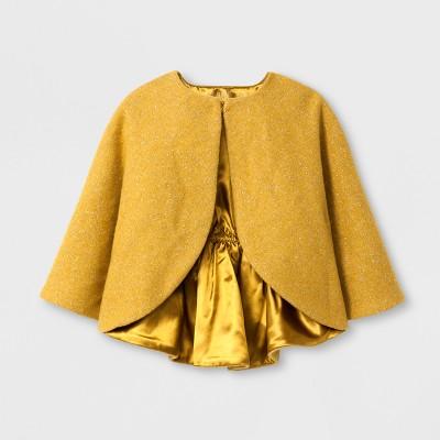 Toddler Girls' Poncho Sweater - Genuine Kids™ from OshKosh® Dragon Moss 18M