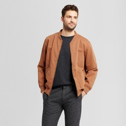 Men's Standard Fit Vintage Bomber Jacket - Goodfellow & Co™ Brown