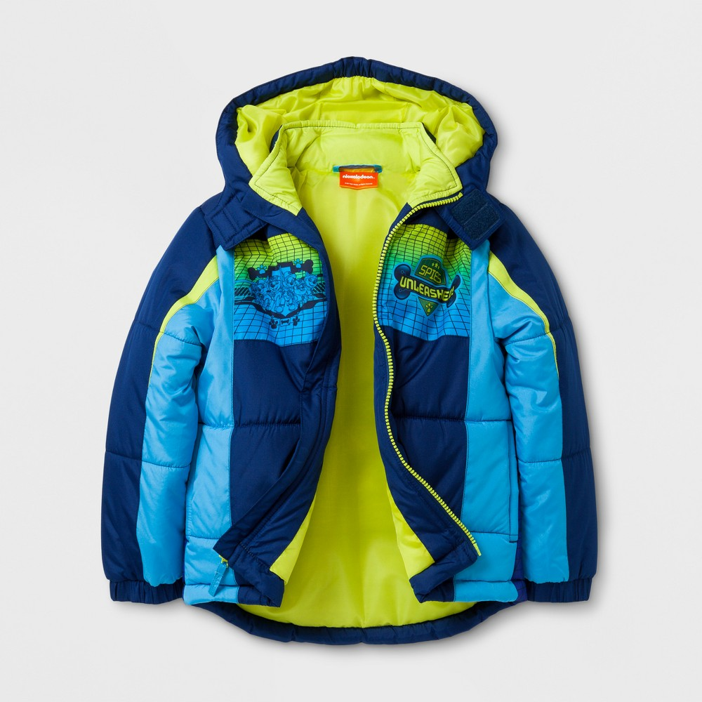 Boys Paw Patrol Puffer Jacket - Awesome Blue 6