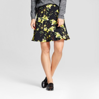 view Women's Paneled Ruffle Skirt - Who What Wear on target.com. Opens in a new tab.