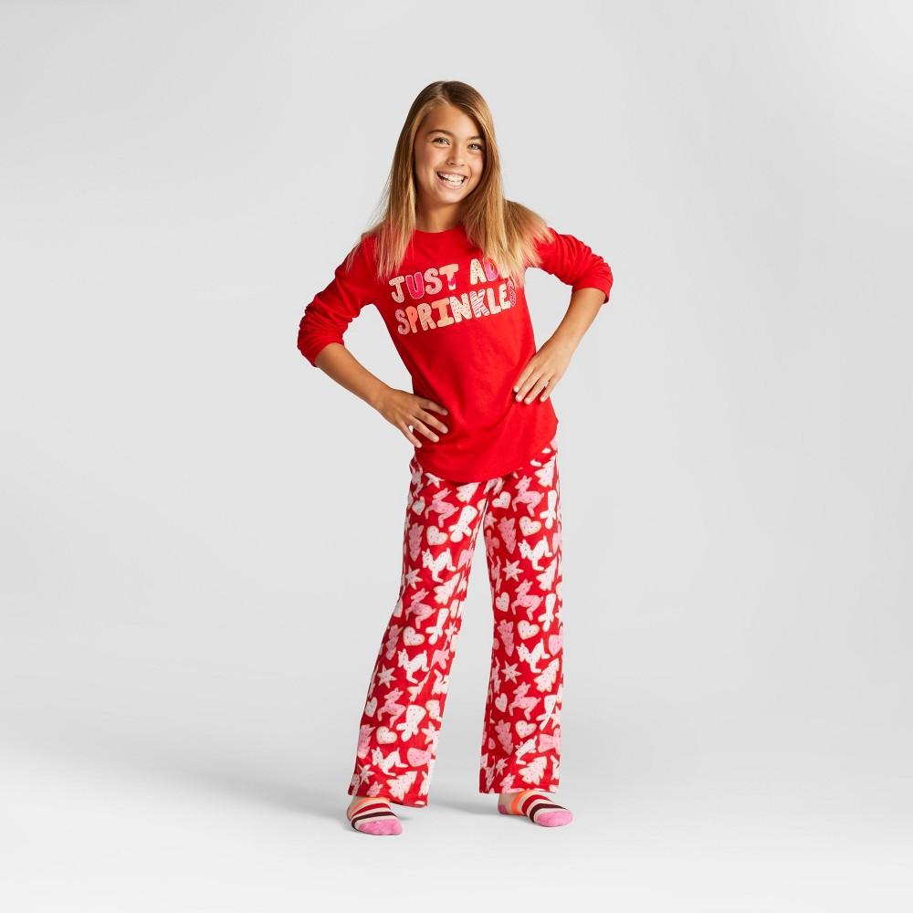 Girls Just Add Sprinkles Pajama Set - Cat & Jack Wowzer Red M