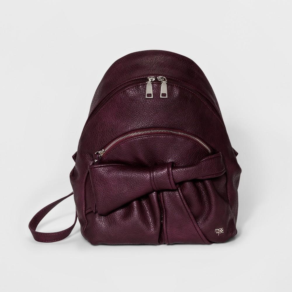 Womens Mac + Jac Clarabella Backpack - Wine (Red)
