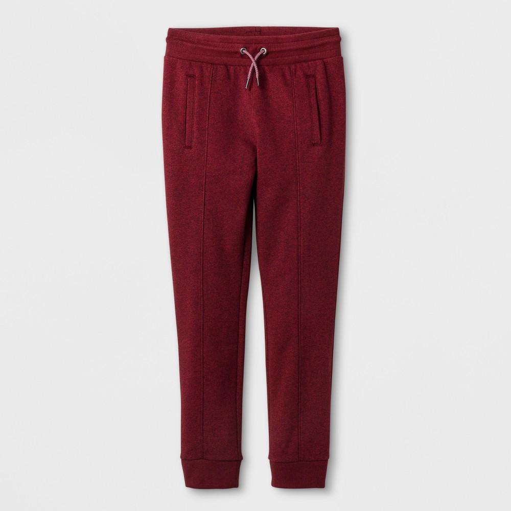 Boys' Jogger Pants - Cat & Jack Black Red Xxl Husky