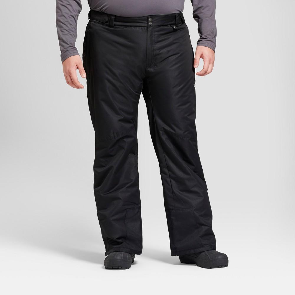 Mens Tall Snow Pants - Zermatt Black Xlt