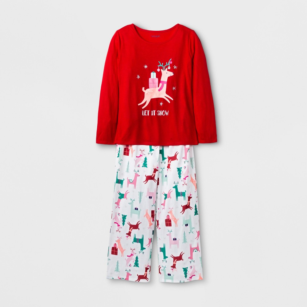 Girls Pajama Set - Cat & Jack Red M