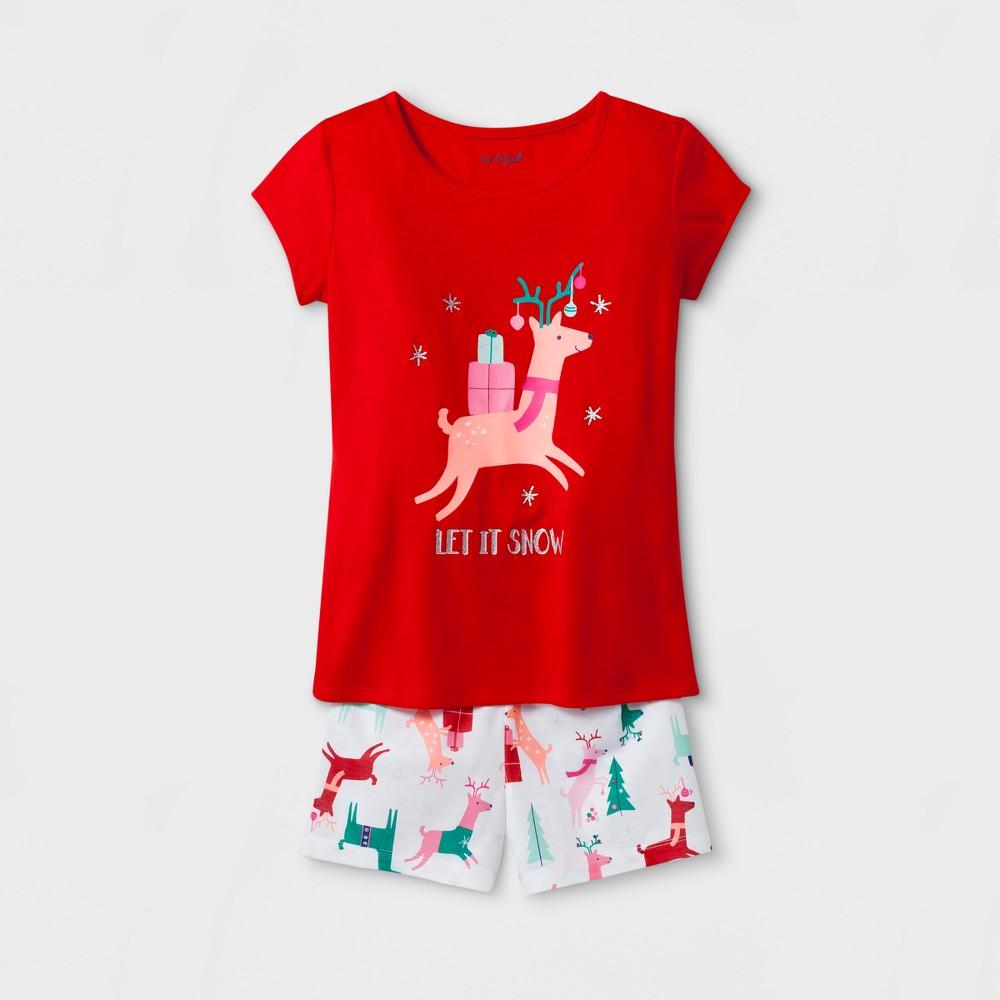 Girls Pajama Set - Cat & Jack Red XL