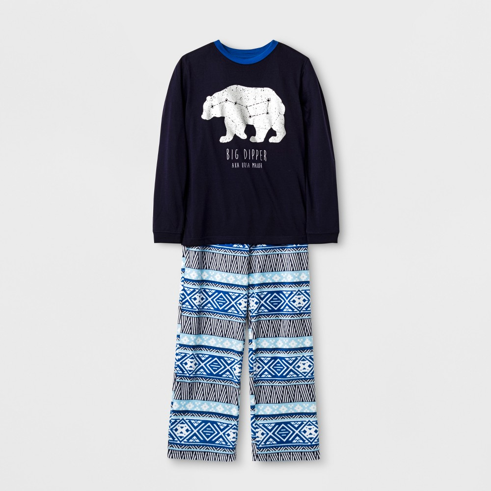 Boys 2pc Big Dipper Pajama Set - Cat & Jack Stately Blue XL