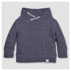 Burt's Bees Baby® Boys' Organic Applique Loose Pique Sweatshirt - Blue