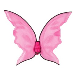 Hot Color Butterfly Wings - Pink