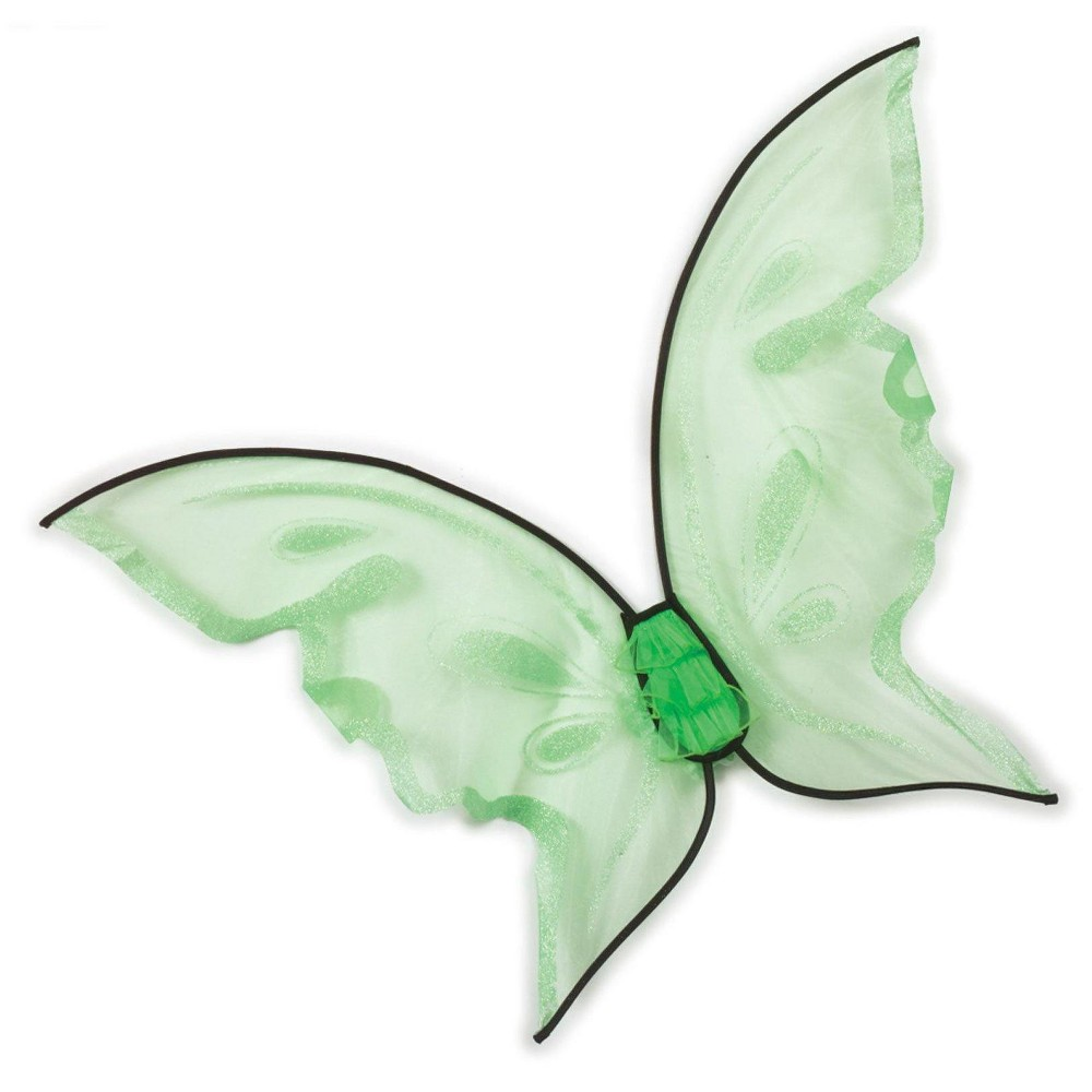Hot Color Butterfly Wings - Green, Womens