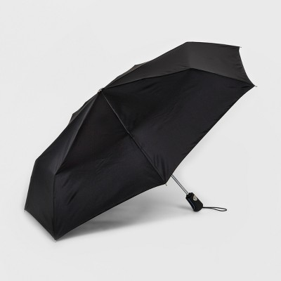Totes® Compact Umbrella With NeverWet Technology - Black