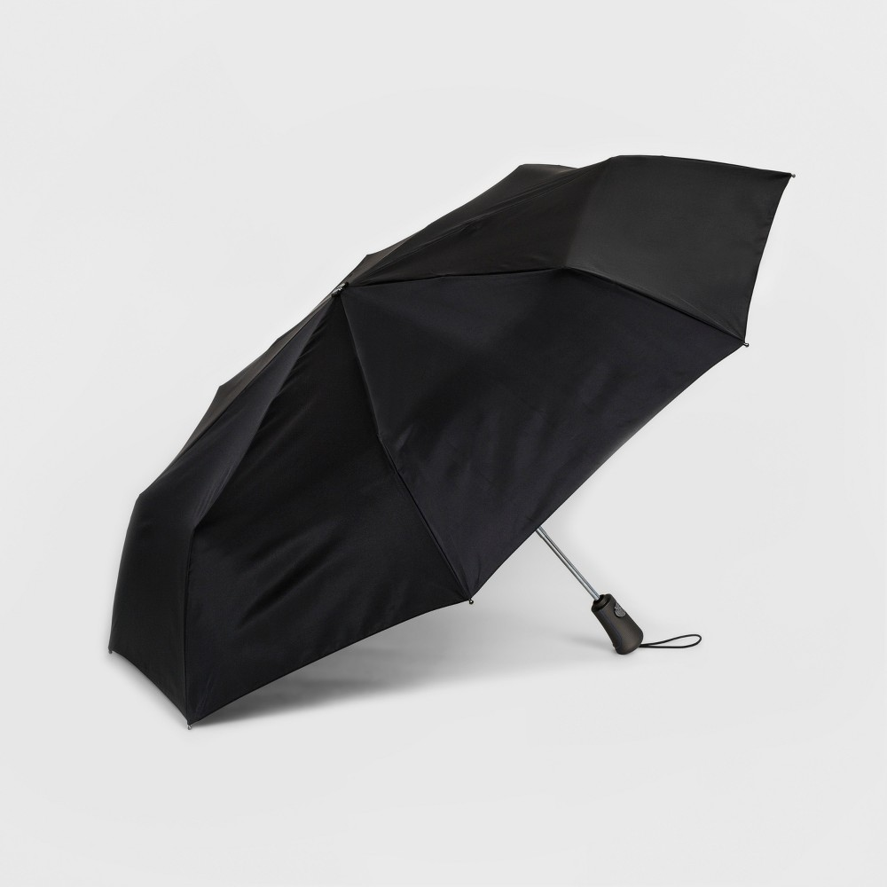 Totes Titan Umbrella With NeverWet Technology - Black