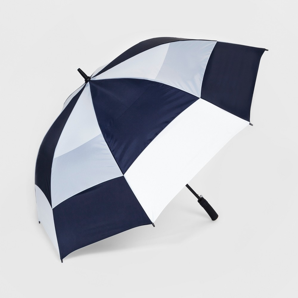 Totes Golf Umbrella With NeverWet Technology - Navy/White (Blue/White)