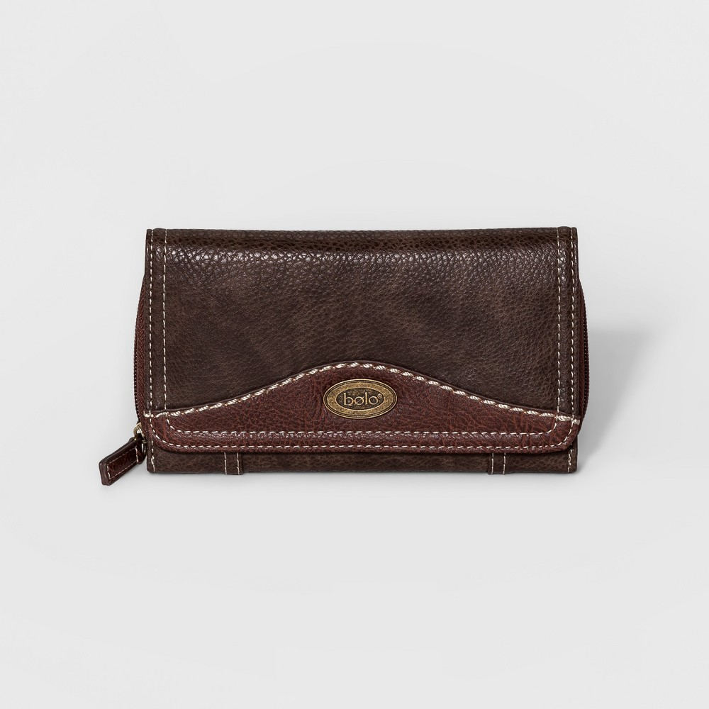 Womens Bolo Park Deluxe Wallet - Chocolate (Brown), Size: Small