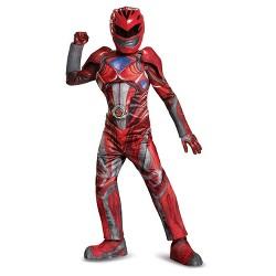 Boys' Power Rangers Red Ranger Prestige Child Costume