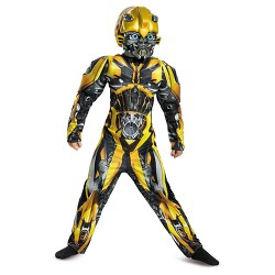 Boys' Transformers Bumblebee Classic Muscle Child Costume