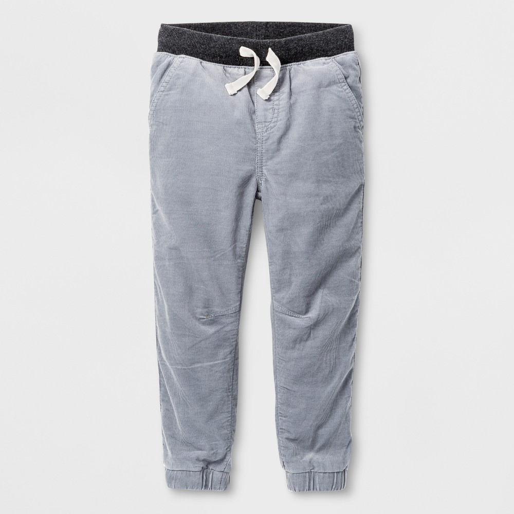 Toddler Boys Jogger Pants - Cat & Jack Nimbus Cloud 18M, Size: 18 M, Gray