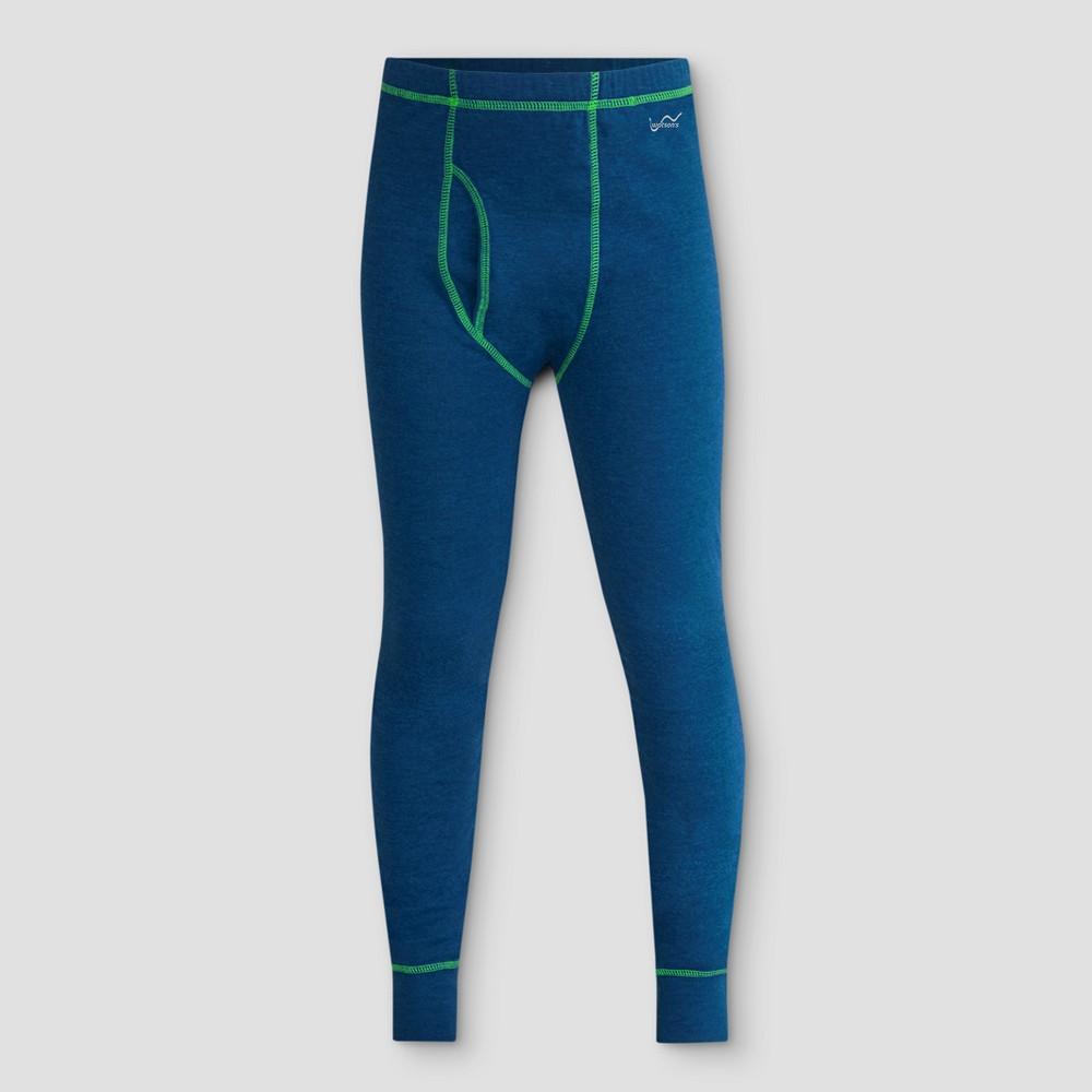 Watsons Boys Thermal Underwear Pants - Heather Blue XS