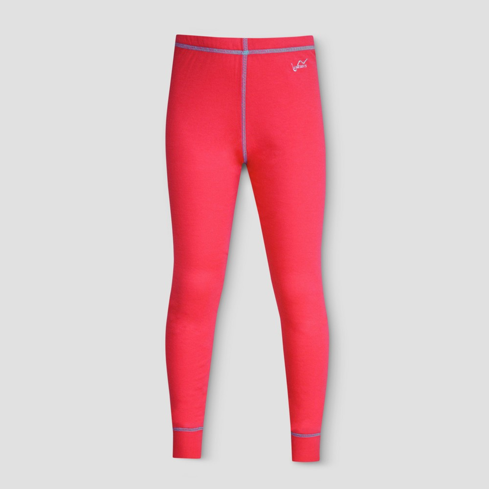 Watsons Girls Thermal Underwear Pants - Coral L, Orange