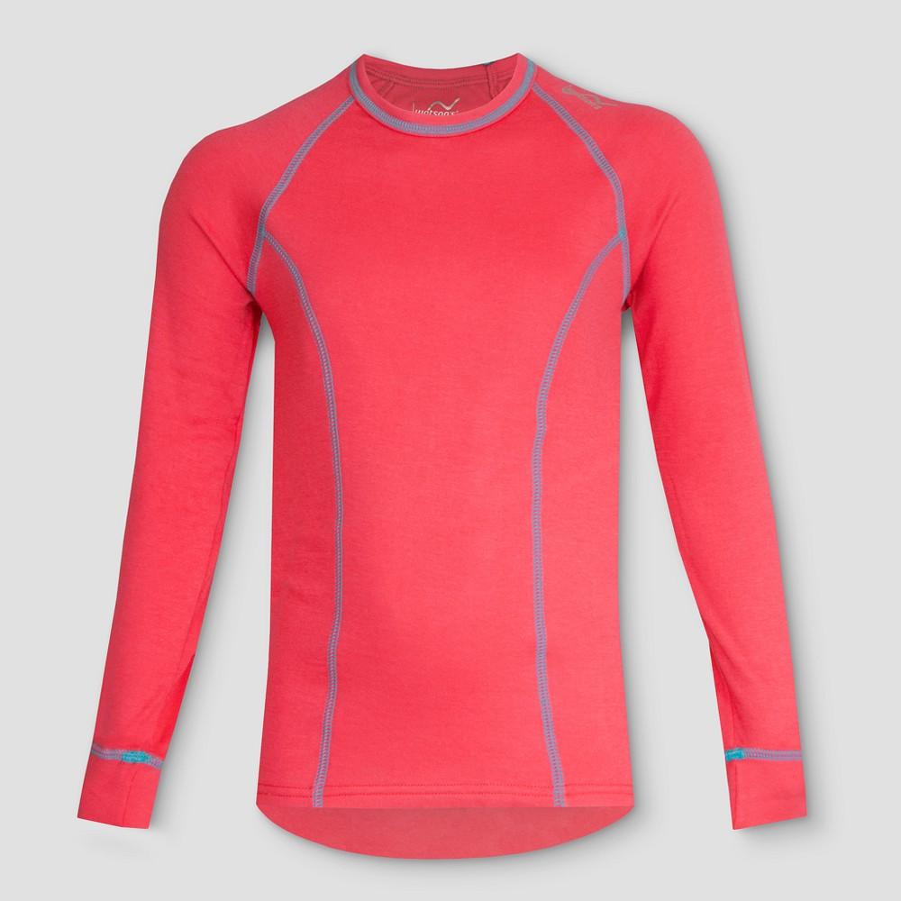 Watsons Girls Thermal Underwear Shirt - Coral XS, Orange