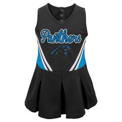 Carolina Panthers Toddler Girls' Cheer Dress & Bloomers Set