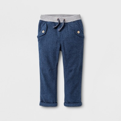 Toddler Boys' Jogger Pants Cat & Jack™ Navy 12M