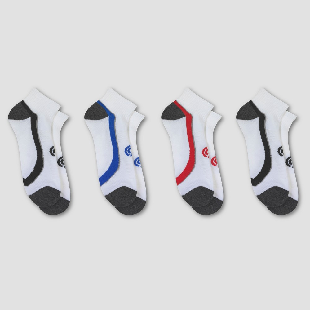 Mens Training Ankle Sock With Added Cushion 3pk - C9 Champion - White 6-12