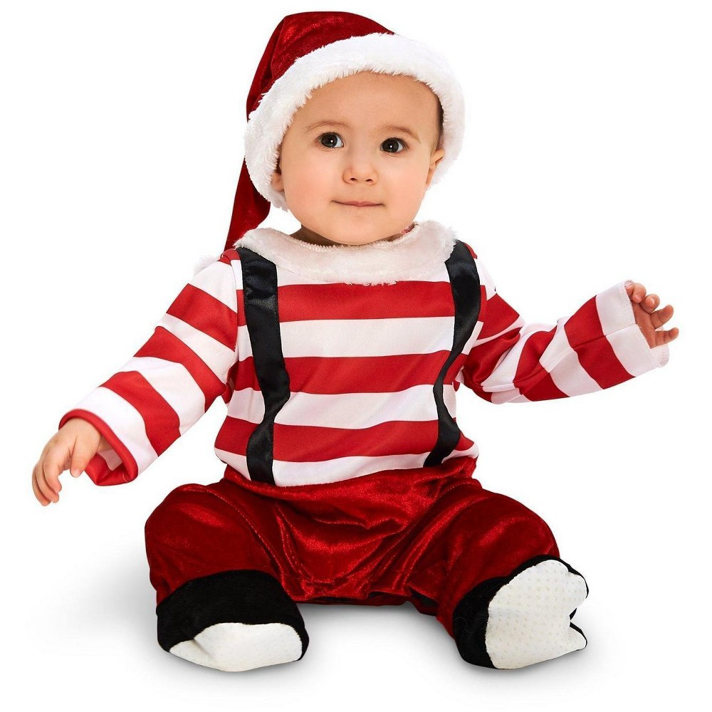Lil Elf Infant Costume 6-12 Months, Infant Boys, Size: 6-12 M, Multicolored