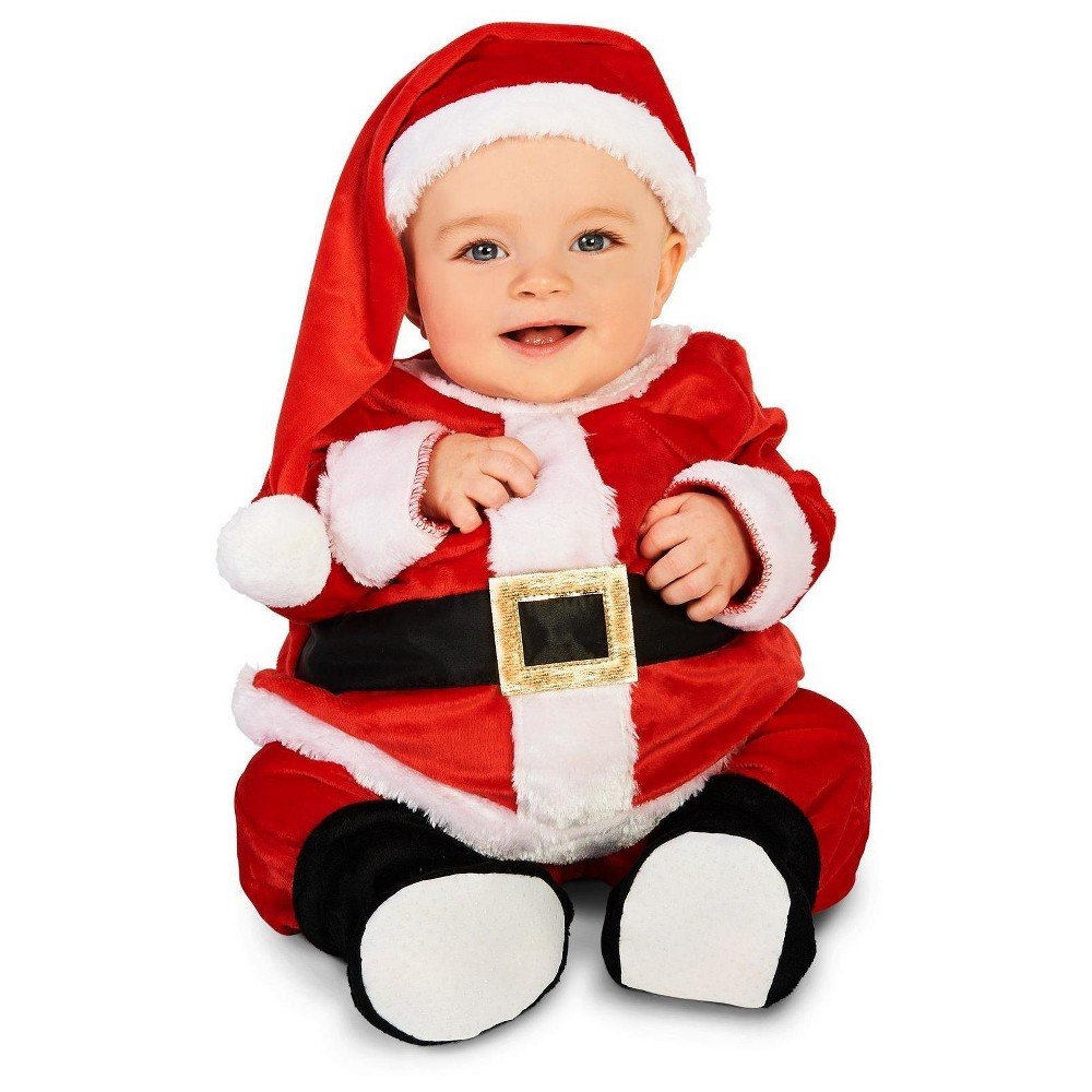 Jolly Belly Infant Santa Costume Suit 6-12 Months, Infant Unisex, Size: 6-12 M, Multicolored