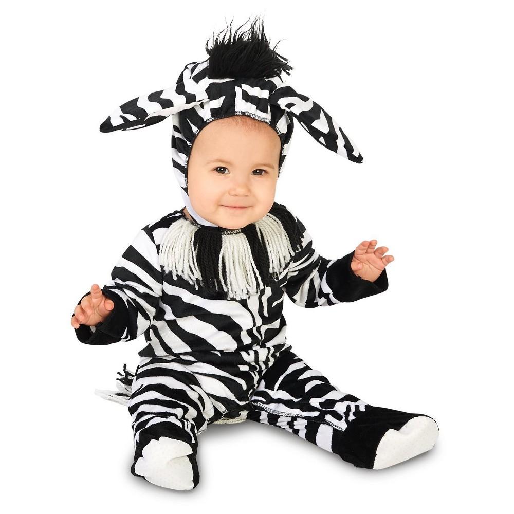 Zany Zebra Infant Costume 6-12 Months, Infant Unisex, Size: 6-12 M, Multicolored