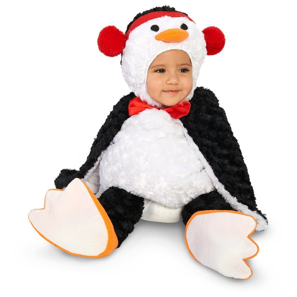 Cute Cuddly Penguin Infant Costume 18-24 Months, Infant Unisex, Size: 18-24 M, Multicolored