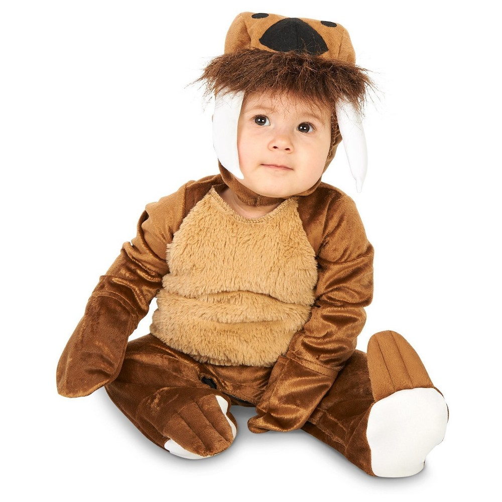 Walrus Cub Infant Costume 18-24 Months, Infant Unisex, Size: 18-24 M, Multicolored