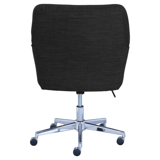 ashland home office chair charcoal serta target