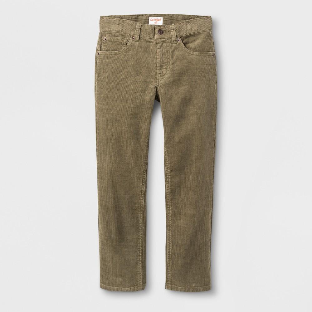 Boys 5-Pocket Chino Pants - Cat & Jack Ivy Green 7