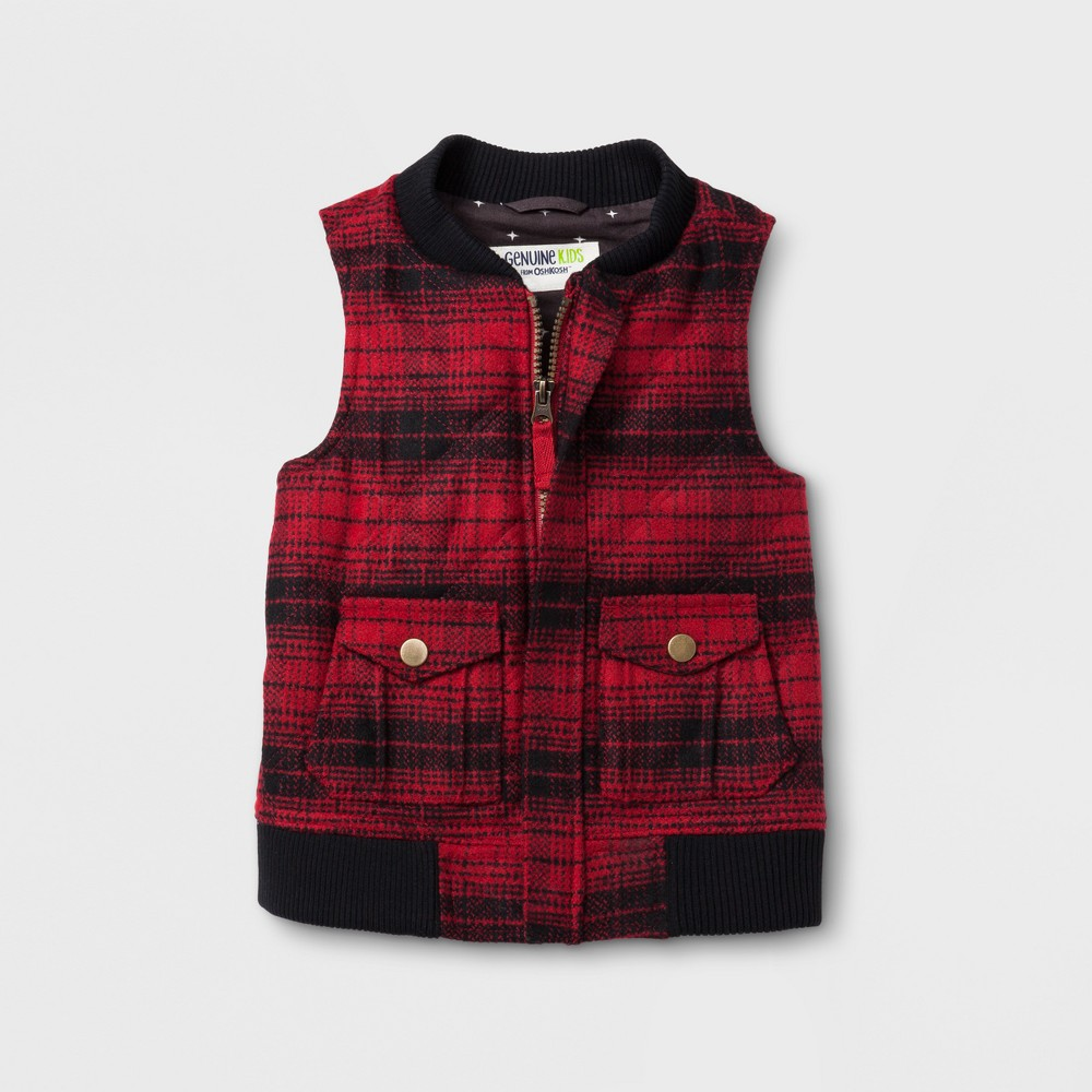 Vests Goodfellow & Co 4T Red, Infant Boys