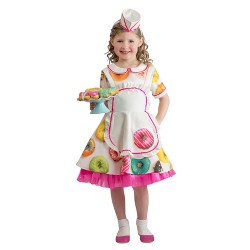 Girls' Donut Waitress Costume