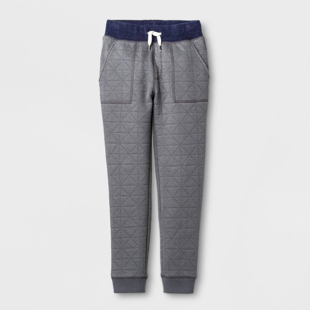 Boys Fleece Jogger Pants - Cat & Jack Gray XL