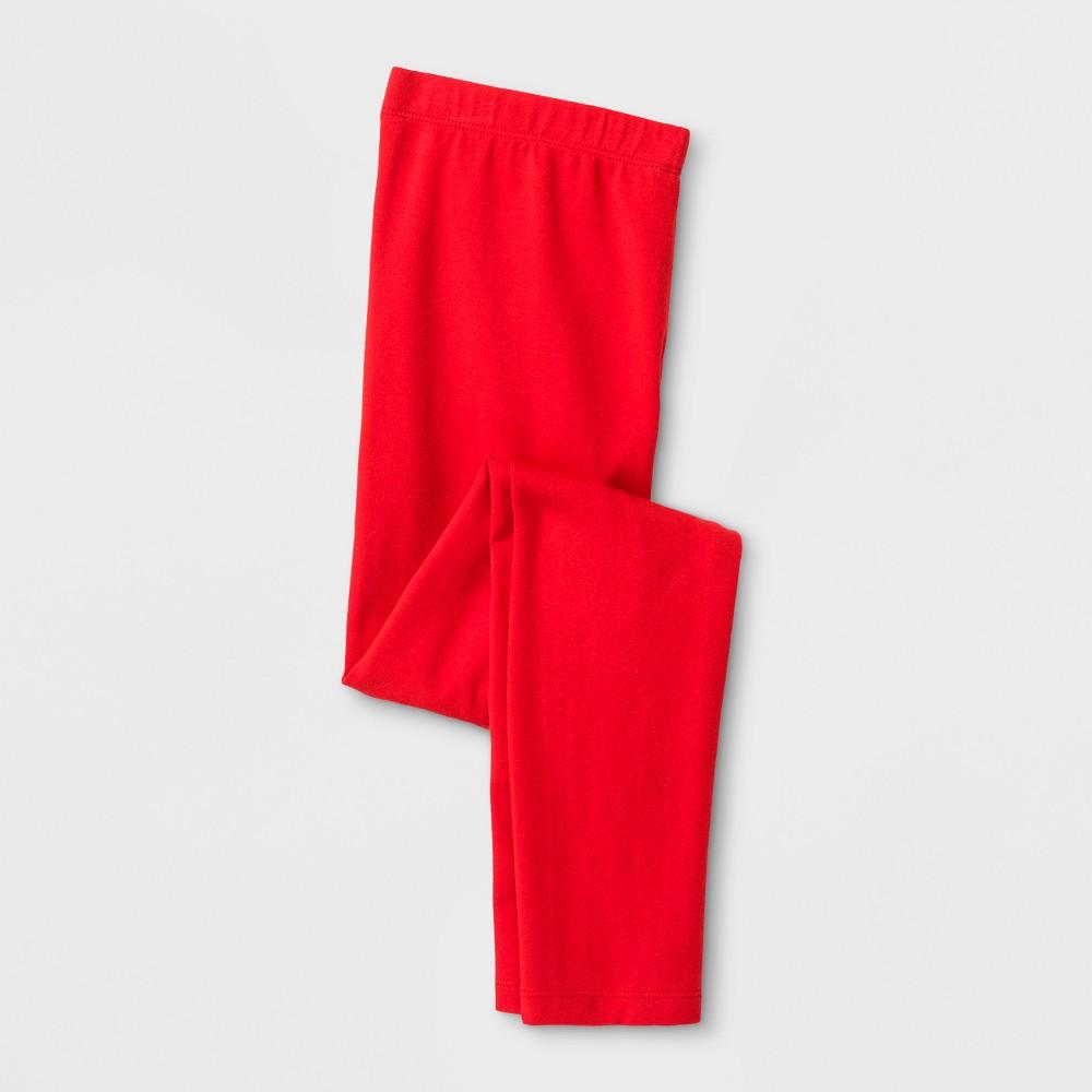 Girls Favorite Leggings - Cat & Jack Red L