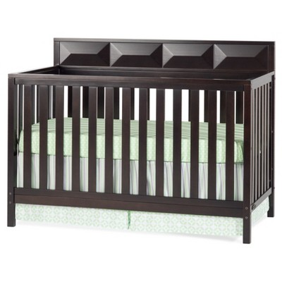 Child Craft Elin 4-in-1 Convertible Crib - Rich Java Brown
