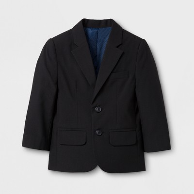 Toddler Boys' Suit Coat - Cat & Jack™ Black 12M