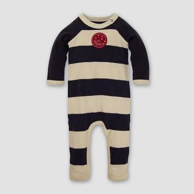 Baby Boys' Organic Full Moon Coverall - Burt's Bees Baby Coal 12M