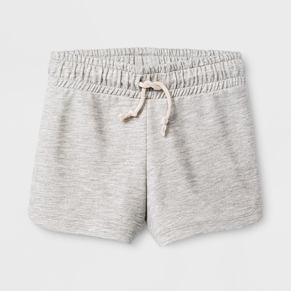 Girls Knit Shorts - Cat & Jack Heather Gray S