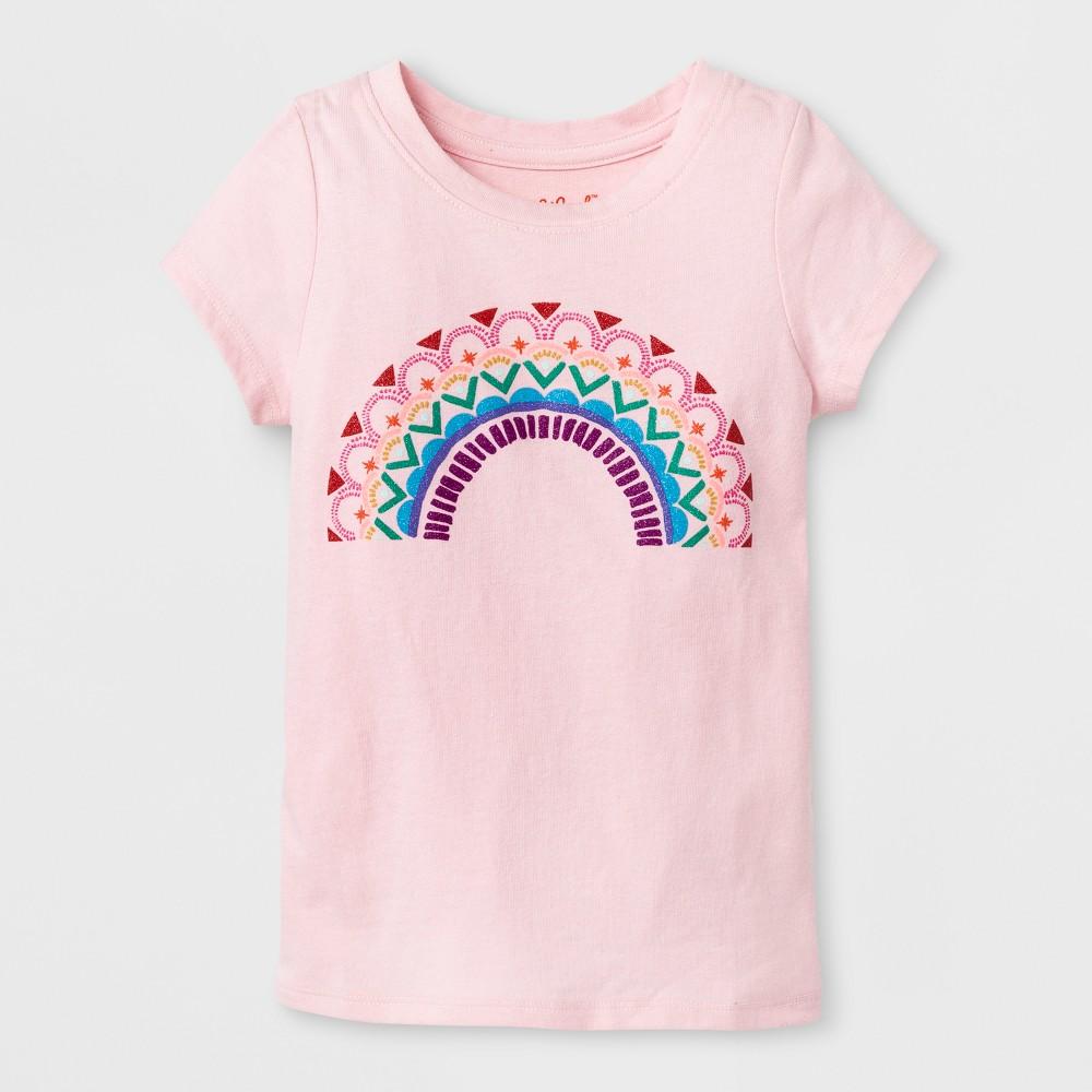 T-Shirt Restful Pink 2T, Toddler Girls