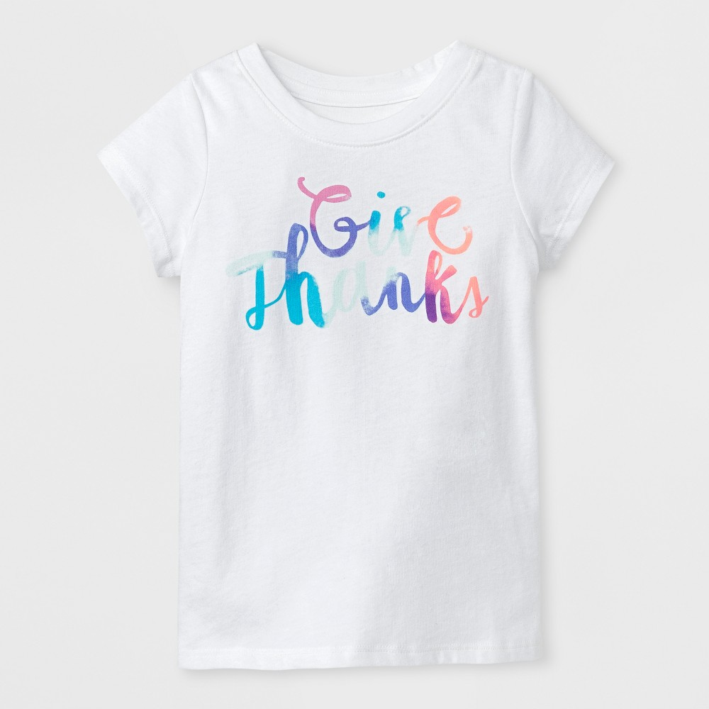 T-Shirt Eco White 12 Months, Toddler Girls, Size: 12 M